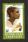 Stamps Africa - Togo -  mujer y utensilios de peluqueria