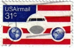 Stamps United States -  Correo aéreo. Airmail.