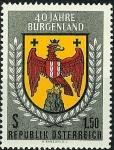 Sellos de Europa - Austria -  Burgenland