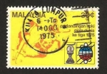 Stamps Asia - Malaysia -  campeonato mundial de hokey hierba masculino, en kuala lumpur