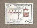 Sellos de Europa - Italia -  Obras de Palladio