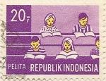 Stamps Indonesia -  PELITA