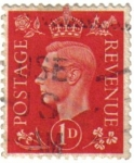 Stamps United Kingdom -  Rey  George VI