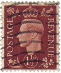 Sellos de Europa - Reino Unido -  Rey George VI