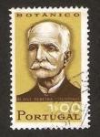 Stamps : Europe : Portugal :  antonio pereira coutinho, botánico
