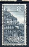 Sellos de Europa - España -  monasterio del escorial