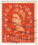 Stamps United Kingdom -  Reina isabel II