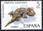Sellos de Europa - España -  Fauna hispánica. Salamanquesa.