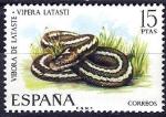 Sellos de Europa - España -  Fauna hispánica. Víbora de Lataste.