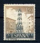 Sellos de Europa - España -  castellers