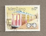 Sellos de Asia - Laos -  130 Aniv del 1er Metro