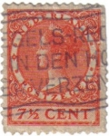 Sellos de Europa - Holanda -  Reina Guillermina I de los Pa�ses Bajos.