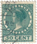 Stamps Netherlands -  Reina Guillermina I de los Países Bajos.