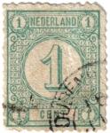 Stamps Europe - Netherlands -  Cifras. Nederland