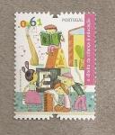 Stamps Portugal -  Derecho del niño a la educación
