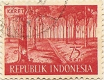 Stamps Asia - Indonesia -  KARET