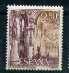 Sellos de Europa - España -  catedral de burgos