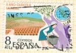 Sellos de Europa - España -  Recogida de la aceituna