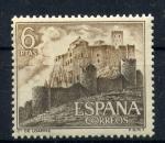 Stamps Spain -  castillo de loarre