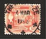 Stamps Asia - Myanmar -  elefante arrastrando troncos