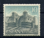 Stamps Spain -  Castillo de Belmonte