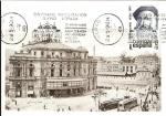 Stamps : Europe : Spain :  Tarjeta Postal -  Centº del Teatro Arriaga de Bilbao