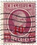 Stamps Belgium -  Alberto I de Belgique.