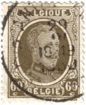 Sellos de Europa - Bélgica -  Alberto I de Belgique.