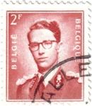 Stamps Belgium -  Balduino I de Bélgica