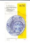 Stamps Mexico -  lebrillo de talavera