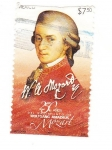 Stamps Mexico -  wolfgang amadeus mozart