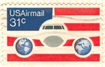 Stamps United States -  Air mail