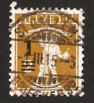 Stamps Switzerland -  walter tell