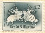 Sellos de Europa - San Marino -  Juegos Medievales