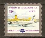 Stamps El Salvador -  ANIVERSARIO  TACA