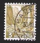 Sellos de Europa - Suiza -  paisaje