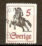 Stamps Sweden -  JINETE
