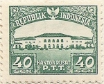 Stamps Indonesia -  KANTOR PUSAT