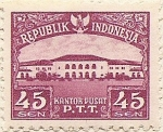 Stamps Asia - Indonesia -  KANTOR PUSAT