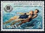 Sellos de Europa - España -  XVIII Campeonato del Mundo de salvamento acuático.