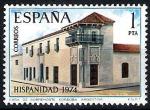 Stamps Spain -  Hispanidad. Argentina, Casa del Virrey Sobremonte, Córdoba.
