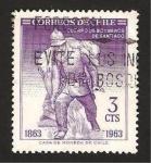 Stamps : America : Chile :  301 - Centº del Cuerpo de Bomberos de Santiago
