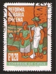 Stamps Chile -  reforma agraria chilena