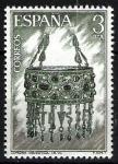 Sellos de Europa - España -  Expo. Mundial de Filatelia. Orfebrería española. Corona de Recesvinto.