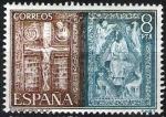 Stamps Spain -  Expo. Mundial de Filatelia. Orfebrería española.  Evangeliario.