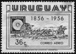 Stamps America - Uruguay -  Centenario del sello Postal