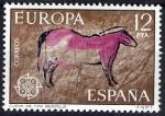 Sellos de Europa - España -  Europa - C.E.P.T. Cueva de Tito Bustillo, Ribadesella, Barcelona.
