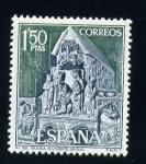 Sellos de Europa - España -  iglesia de s. vicente (avila)