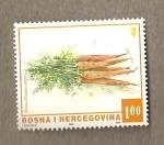 Sellos del Mundo : Europa : Bosnia_Herzegovina : Manojo de zanahorias