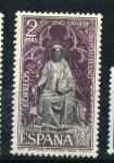 Stamps Spain -  santiago ct.pistoia-italia